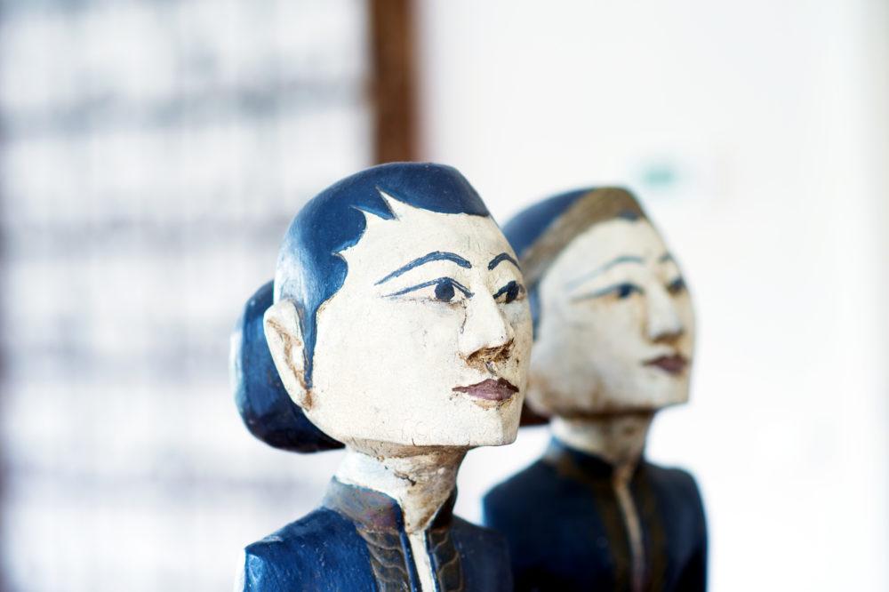 Detail Indonesische kunst